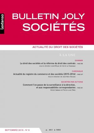 Action En Responsabilite Civile A La Suite D Abus De Biens Sociaux