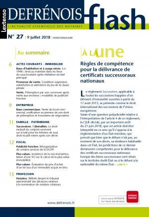 Incidence De La Non Immatriculation D Une Sci Sur Le Calcul De La