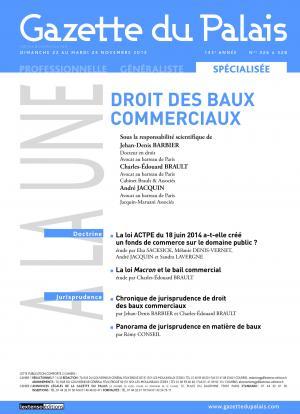 Loyers Commerciaux Indices Applicables Gpl248d4 Gazette Du Palais