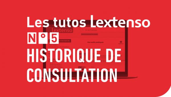 Historique de consultation