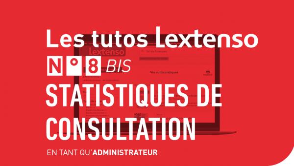 Statistiques de consultation en tant qu'administrateur